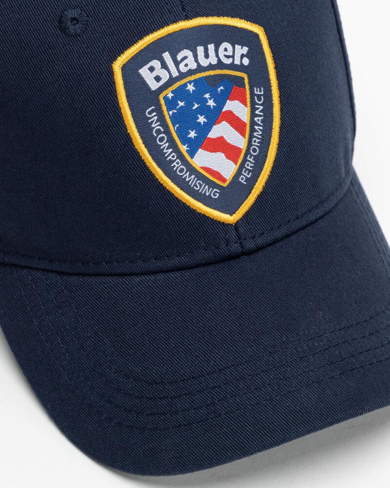 Czapka Blauer BLUA04427_892 granatowy - fot:2