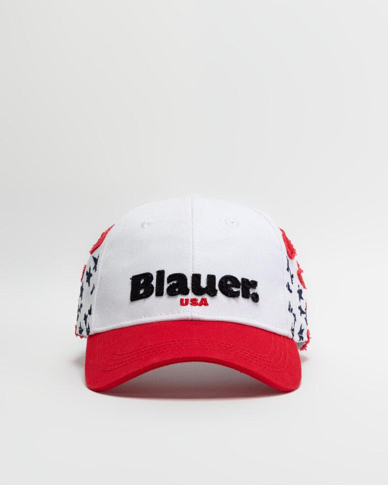 Czapka Blauer BLUA04426_100 biały - fot:1