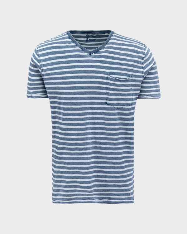 T-Shirt Pioneer Authentic Jeans 07373_04573_578 granatowy