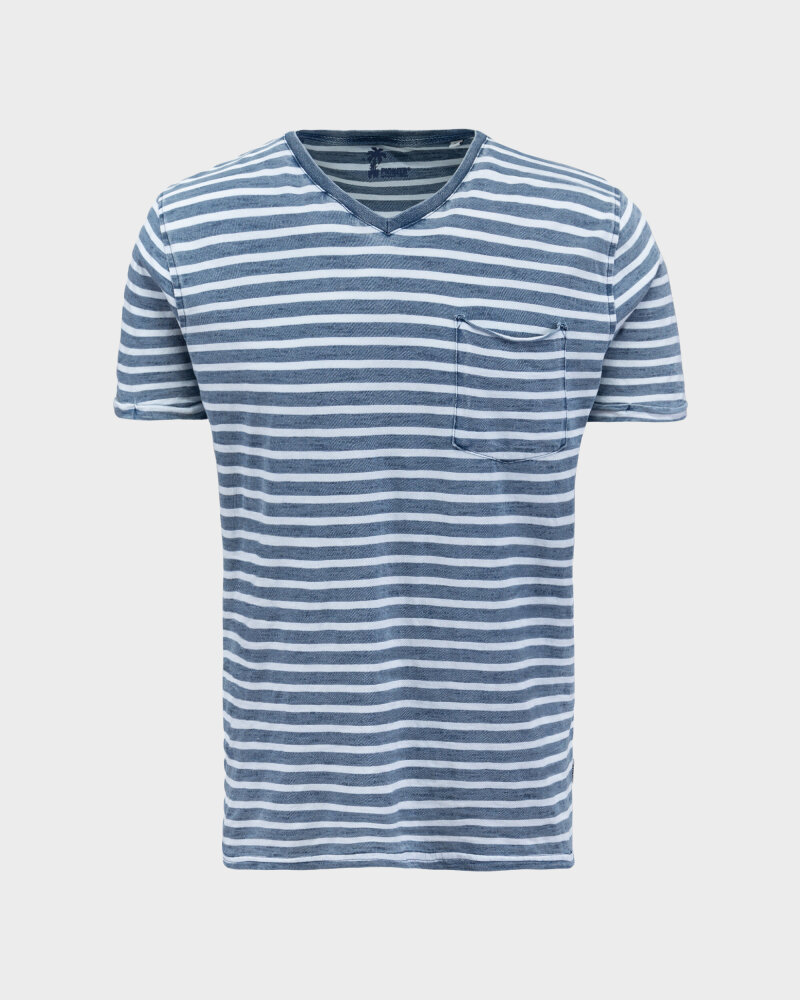 T-Shirt Pioneer Authentic Jeans 07373_04573_578 granatowy - fot:1