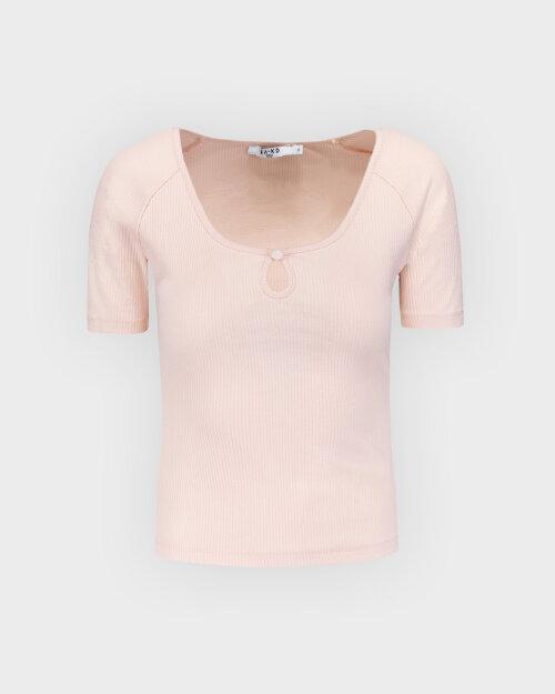 Bluzka Na-Kd 1660-000545_DUSTY PINK pudrowy róż