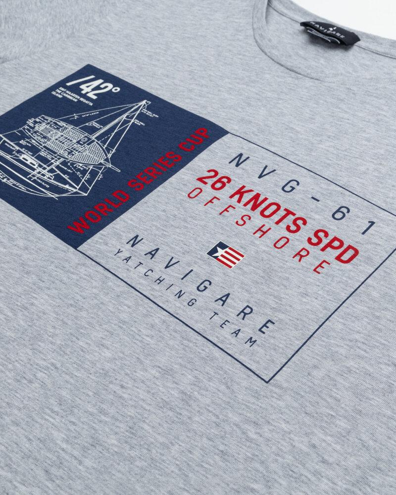 T-Shirt Navigare NV31144_007 szary - fot:3