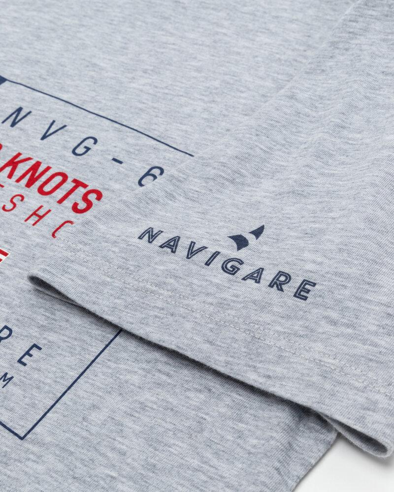 T-Shirt Navigare NV31144_007 szary - fot:4