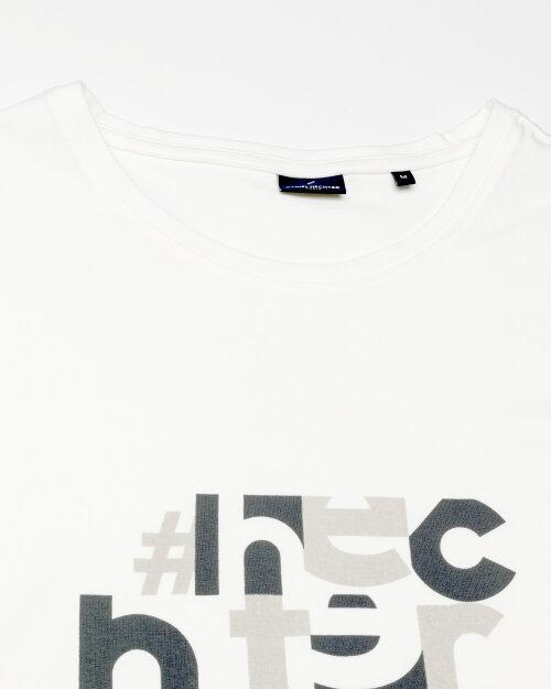 T-Shirt Daniel Hechter 75003-111901_010 biały