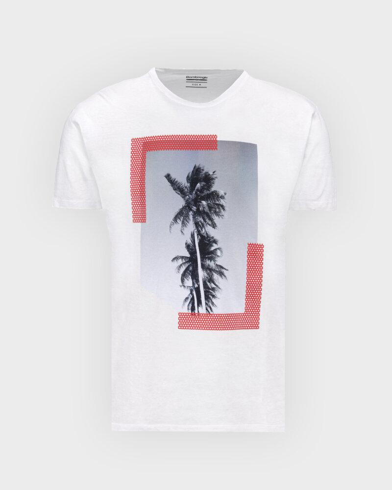 T-Shirt Bomboogie TM6973_JSNS_00 biały - fot:1