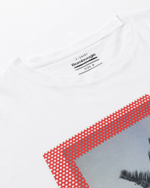 T-Shirt Bomboogie TM6973_JSNS_00 biały