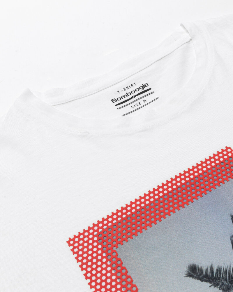 T-Shirt Bomboogie TM6973_JSNS_00 biały - fot:2