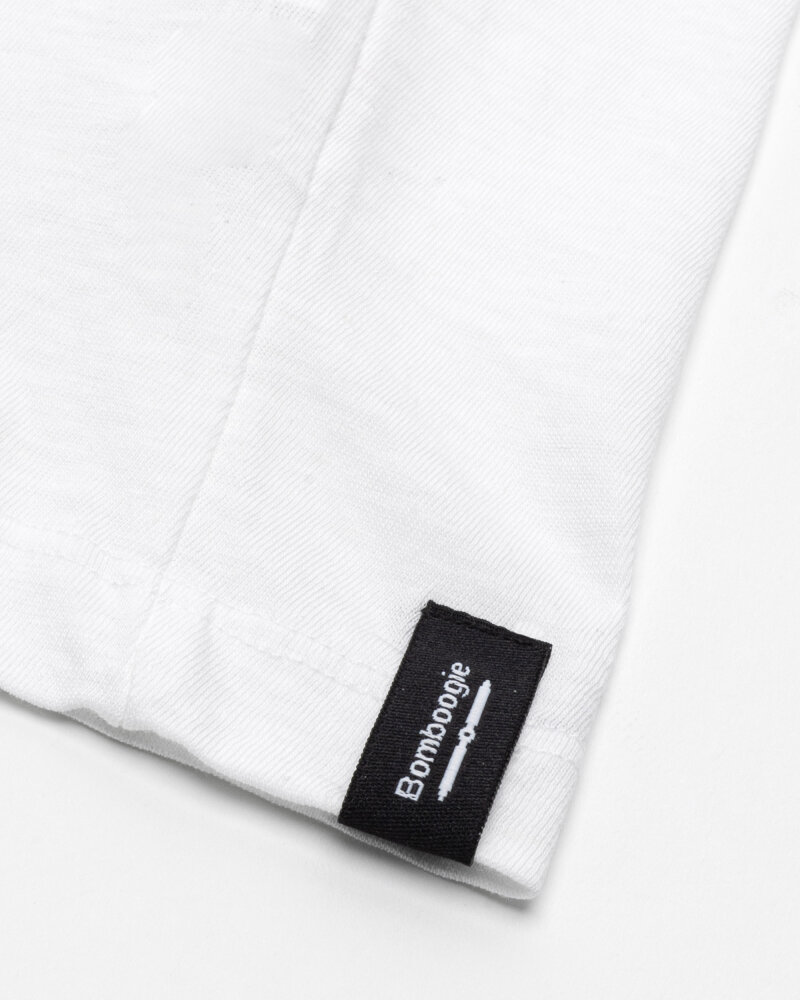 T-Shirt Bomboogie TM6973_JSNS_00 biały - fot:4