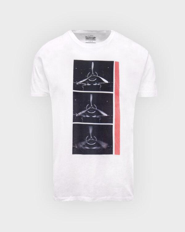 T-Shirt Bomboogie TM6982_JSEL_00 biały