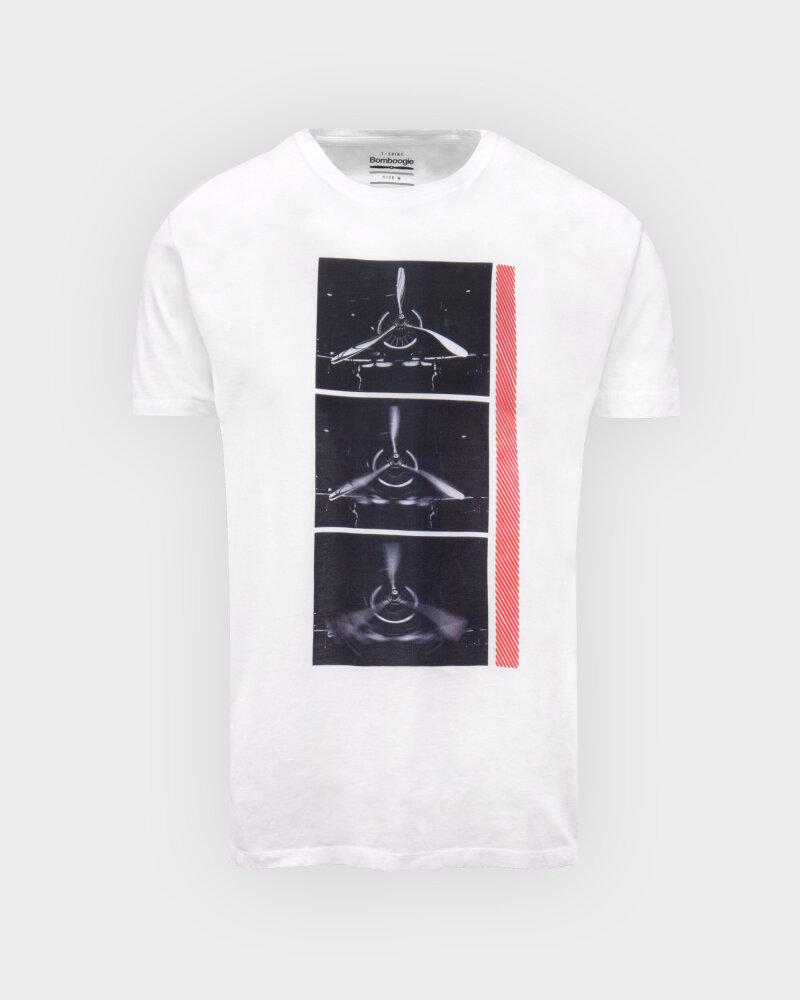 T-Shirt Bomboogie TM6982_JSEL_00 biały - fot:1