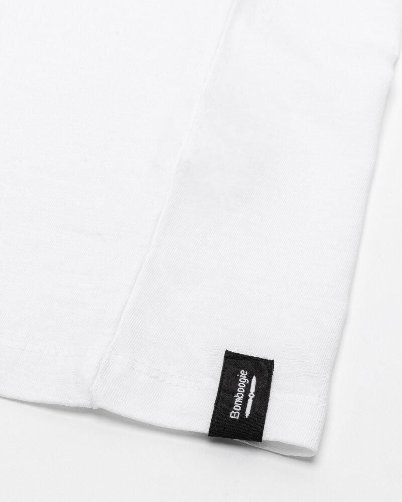 T-Shirt Bomboogie TM6982_JSEL_00 biały - fot:4