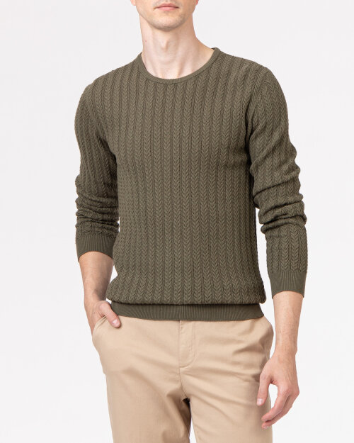 Sweter Matinique 30205165_190515 khaki