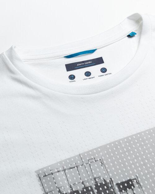 T-Shirt Pierre Cardin 11272_52610_1000 biały