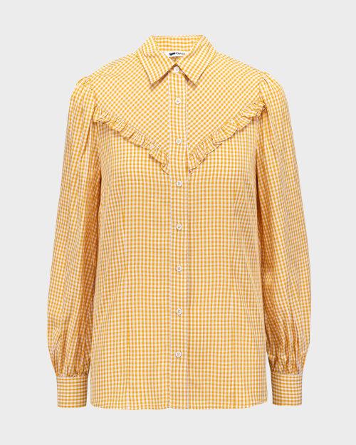 Koszula Gas A1376_MARAH Z.ROUCHES     _1553 żółty
