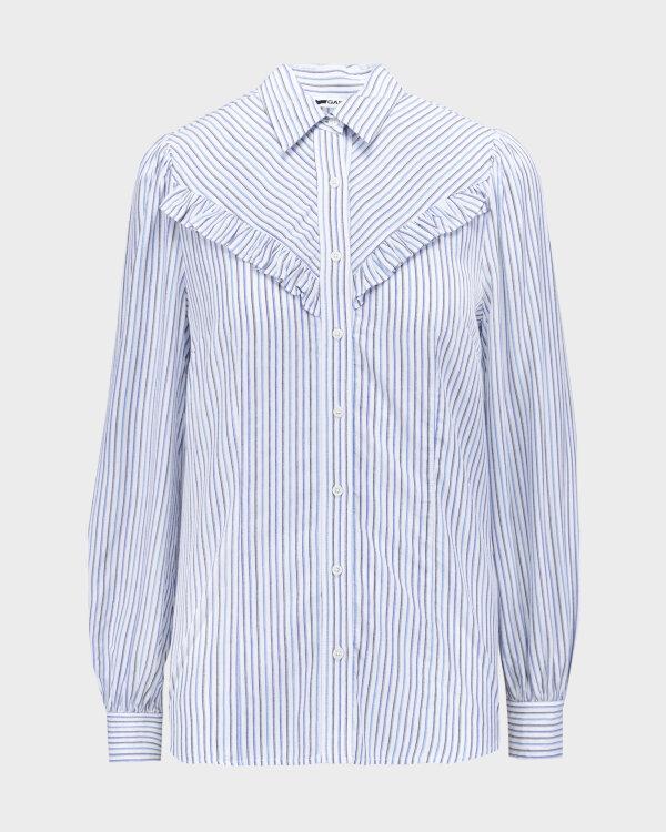 Koszula Gas A1376_MARAH Z.ROUCHES     _0194 biały