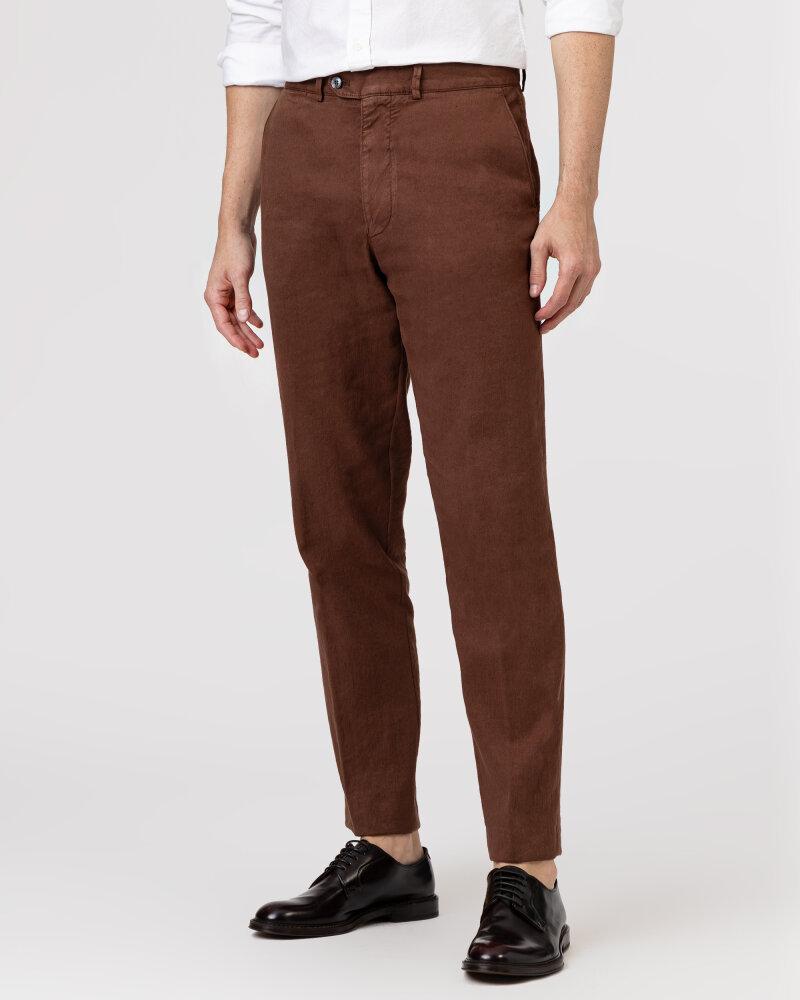 Spodnie Oscar Jacobson NICO 5233_5032_576 brązowy - fot:2