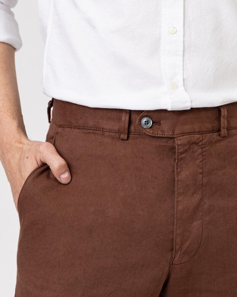 Spodnie Oscar Jacobson NICO 5233_5032_576 brązowy - fot:3