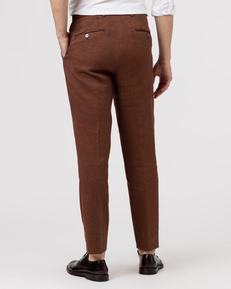 Spodnie Oscar Jacobson NICO 5233_5032_576 brązowy - fot:4