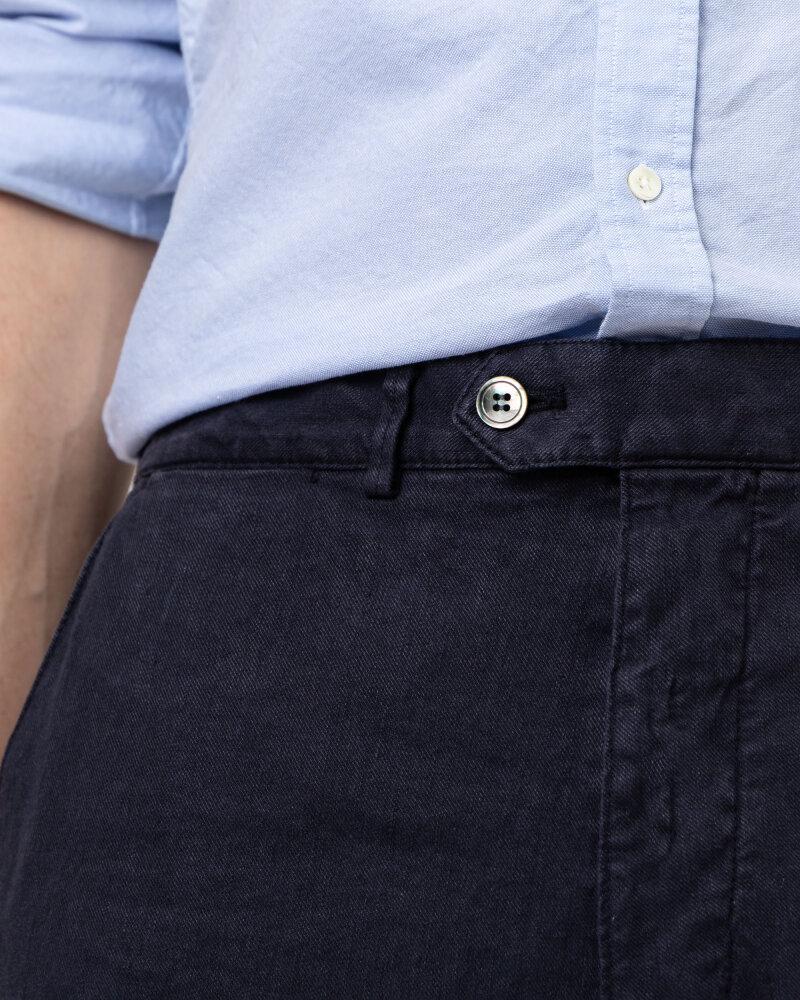 Spodnie Oscar Jacobson NICO 5233_5032_211 granatowy - fot:3