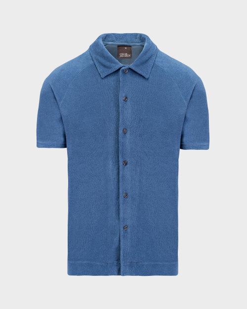 Polo Oscar Jacobson ALBIN 6964_5624_278 niebieski