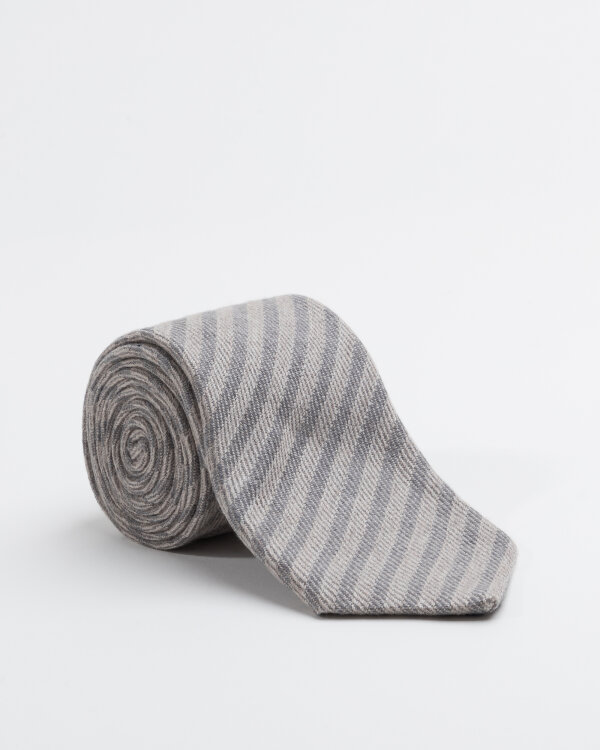 Krawat Stenströms 913146_001 szary
