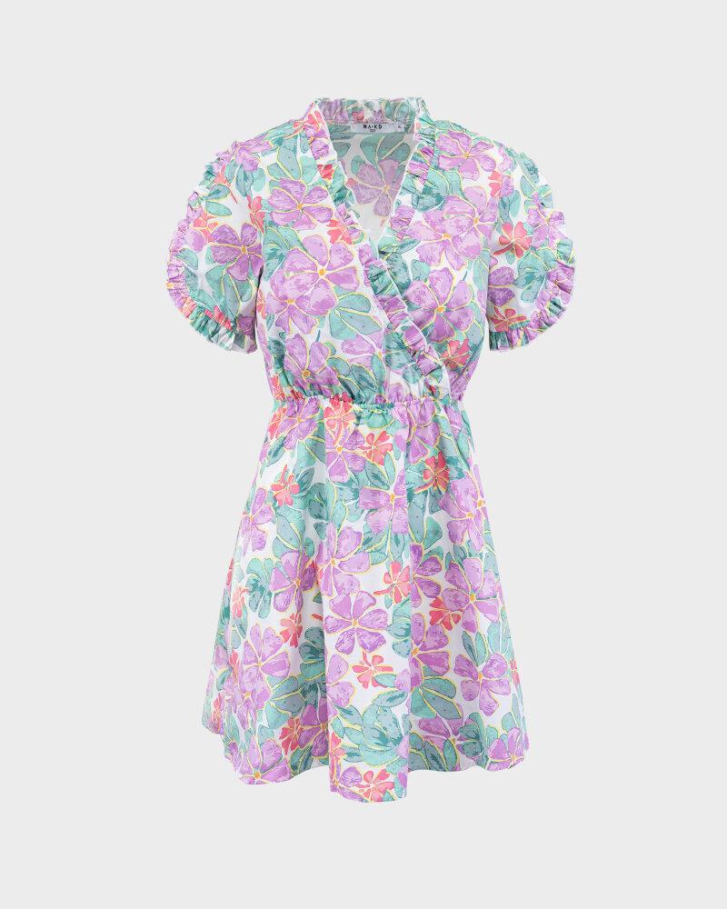 Sukienka Na-Kd 1018-006849_PURPLE wielobarwny - fot:1