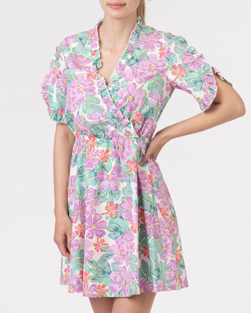 Sukienka Na-Kd 1018-006849_PURPLE wielobarwny - fot:2