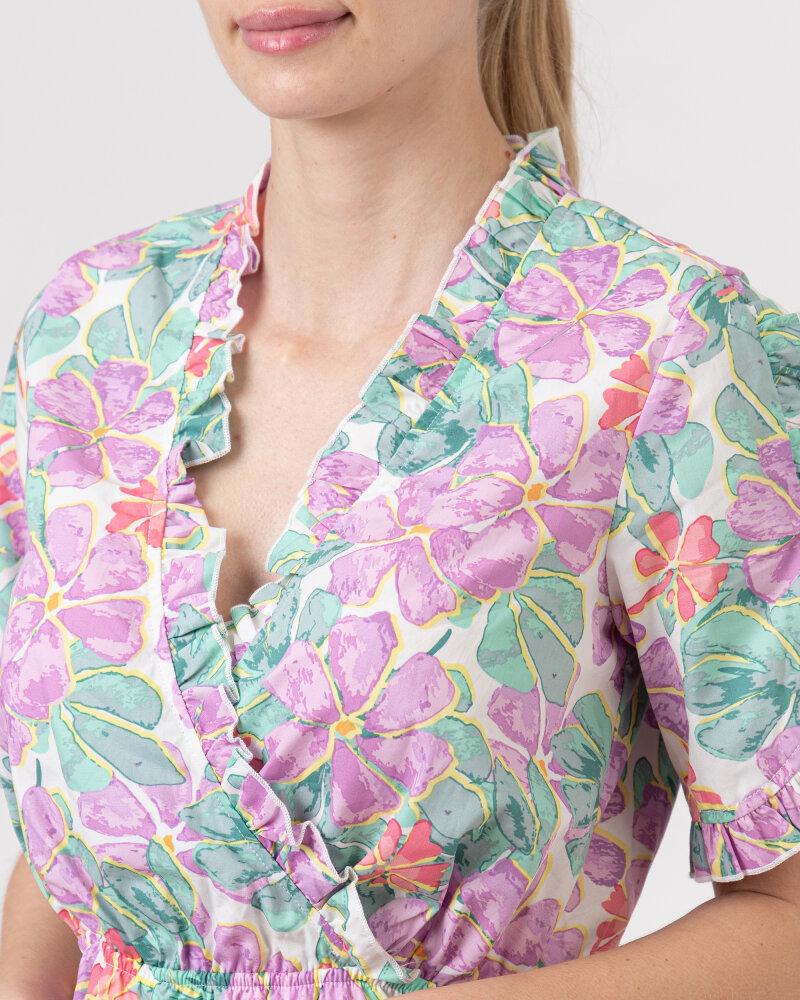 Sukienka Na-Kd 1018-006849_PURPLE wielobarwny - fot:3