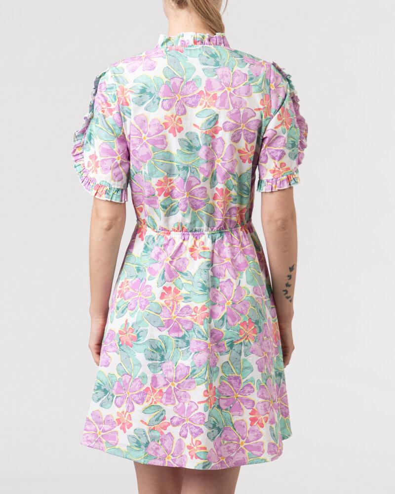 Sukienka Na-Kd 1018-006849_PURPLE wielobarwny - fot:4