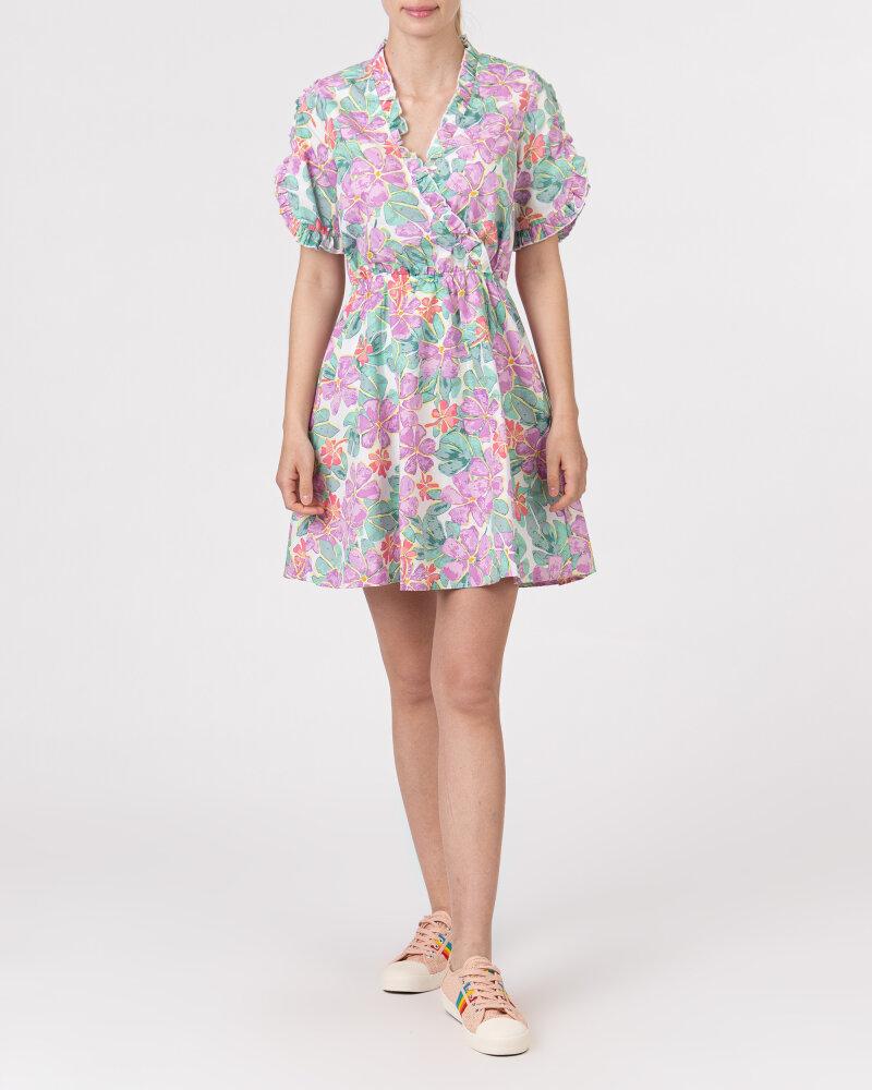 Sukienka Na-Kd 1018-006849_PURPLE wielobarwny - fot:5