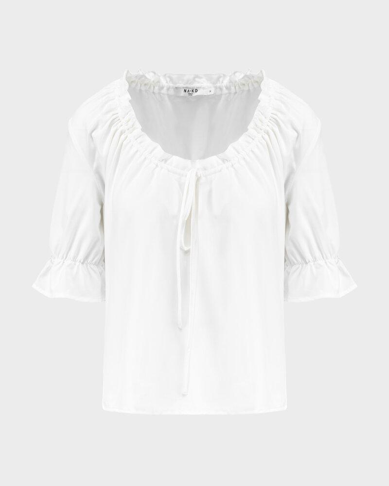Bluzka Na-Kd 1018-006796_WHITE biały - fot:1