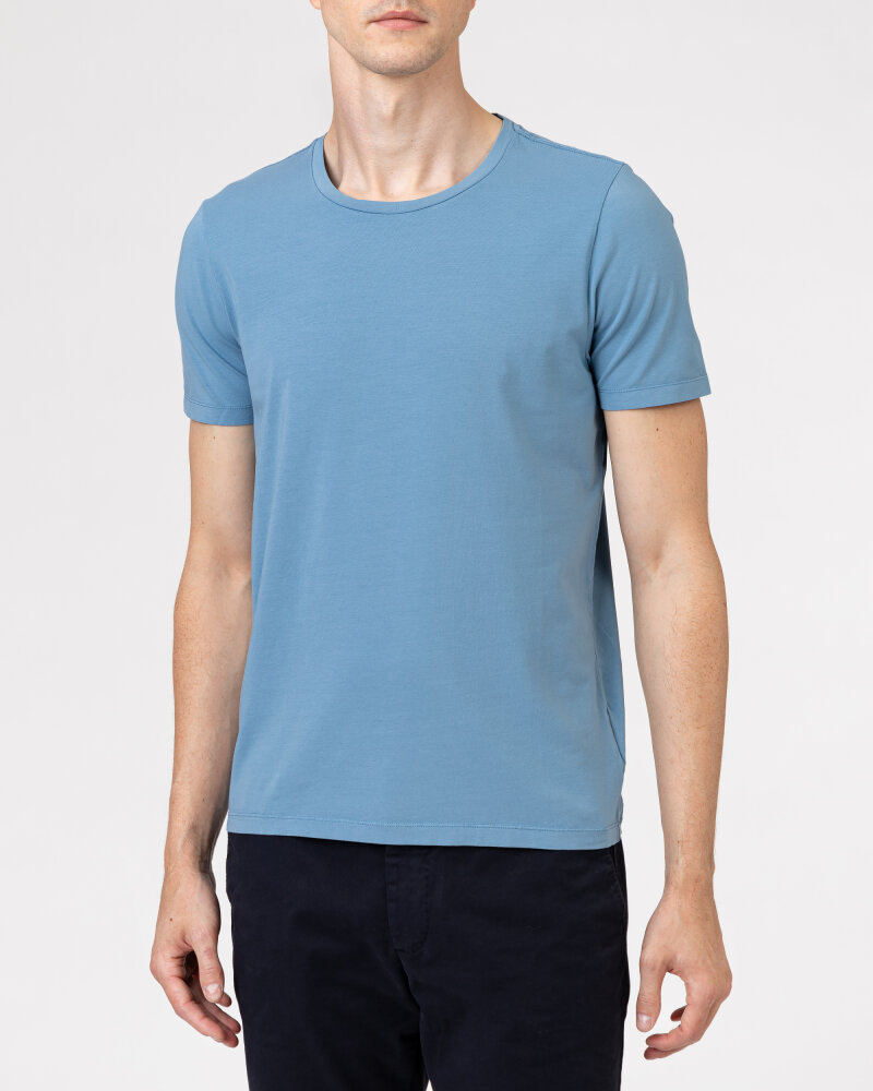 T-Shirt Oscar Jacobson KYRAN 6789_5616_278 niebieski - fot:2