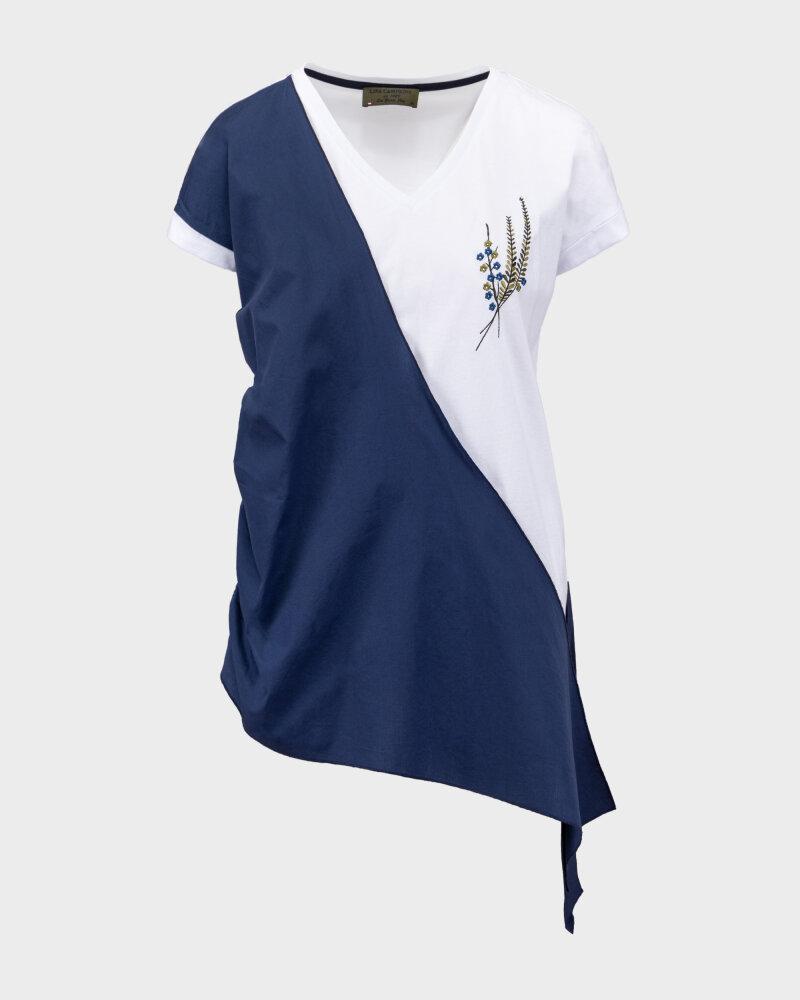 T-Shirt Campione 1583517_121130_84411 biały - fot:1