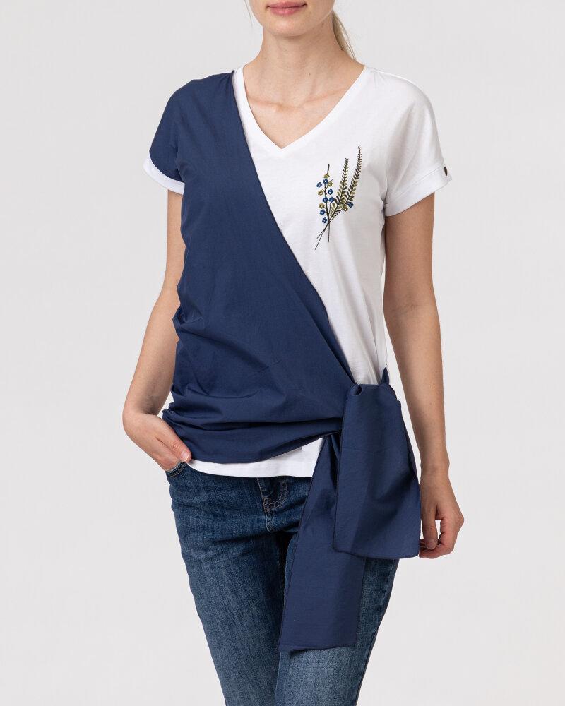 T-Shirt Campione 1583517_121130_84411 biały - fot:2