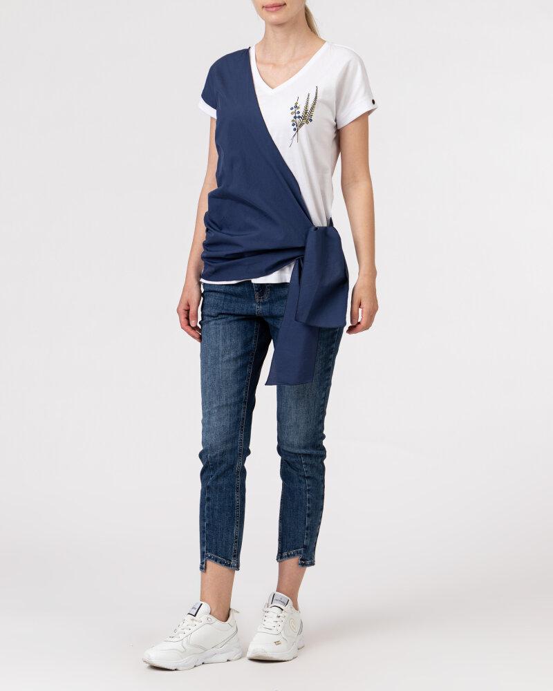T-Shirt Campione 1583517_121130_84411 biały - fot:7