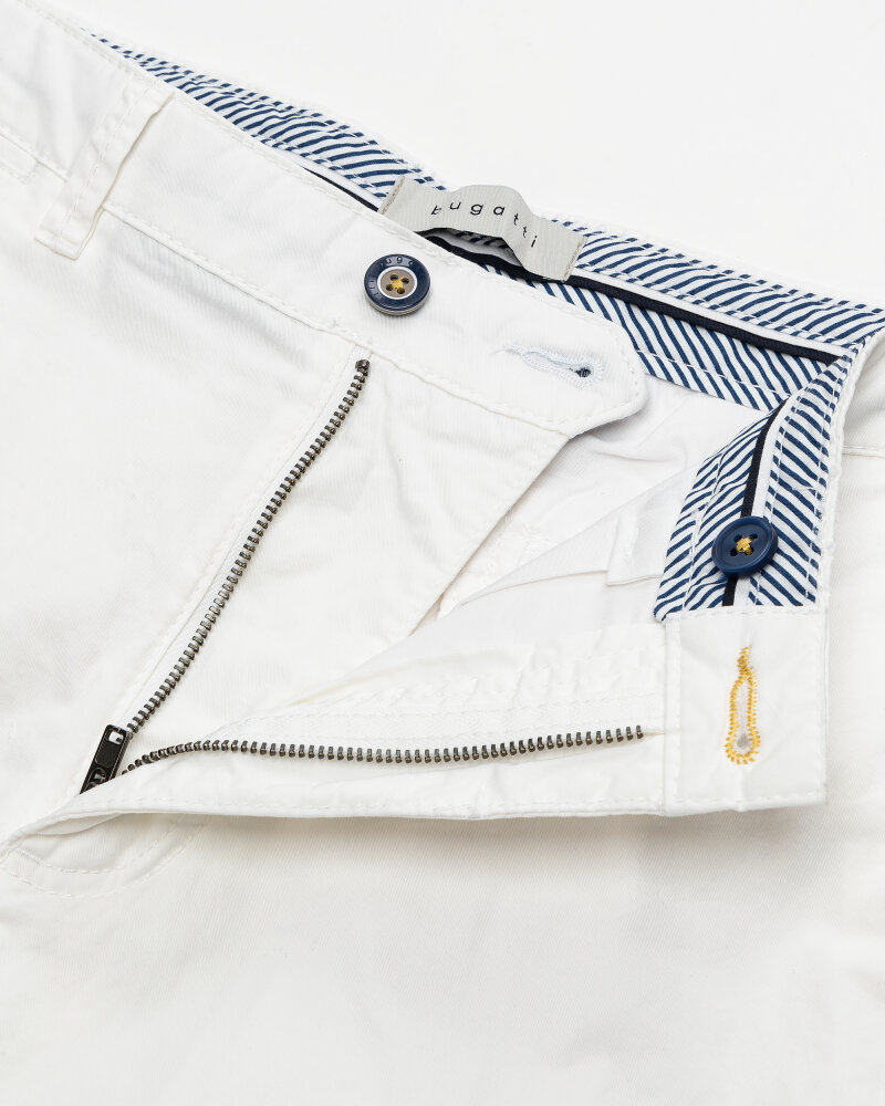 Szorty Bugatti 76441_1 4979_010 biały - fot:2