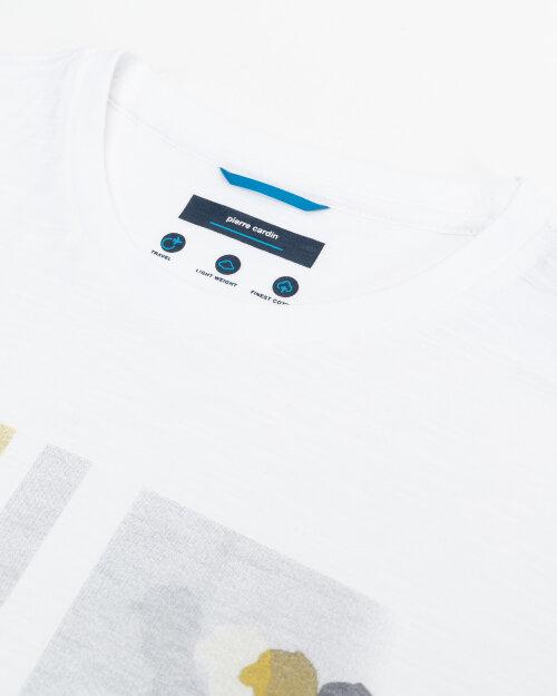 T-Shirt Pierre Cardin 11274_52630_1000 biały