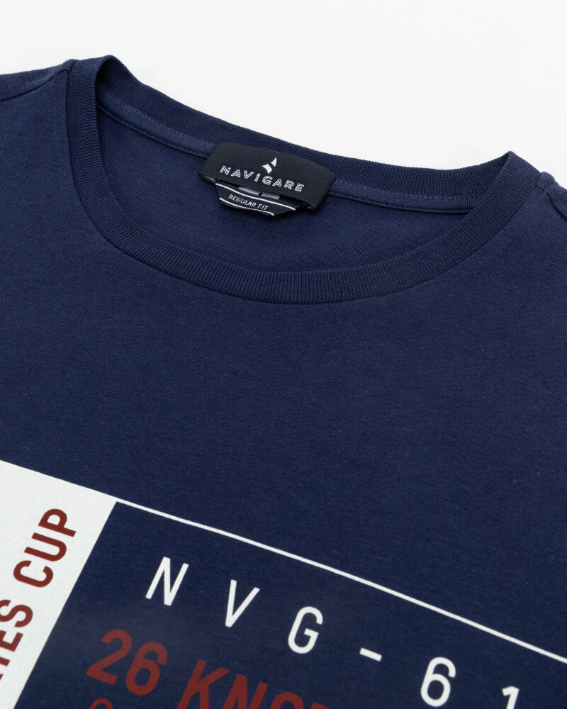 T-Shirt Navigare NV31144_454 granatowy - fot:2