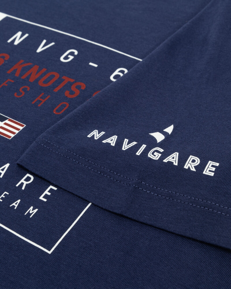 T-Shirt Navigare NV31144_454 granatowy - fot:3