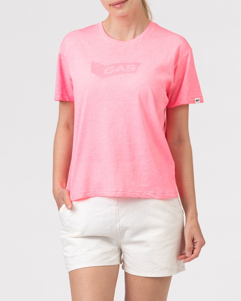 T-Shirt Gas A1150_FRANCYS NEW GLITTER _1890 różowy - fot:2