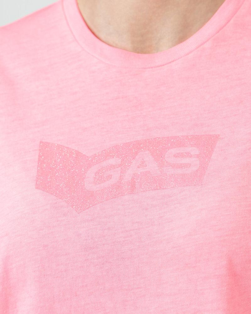 T-Shirt Gas A1150_FRANCYS NEW GLITTER _1890 różowy - fot:3