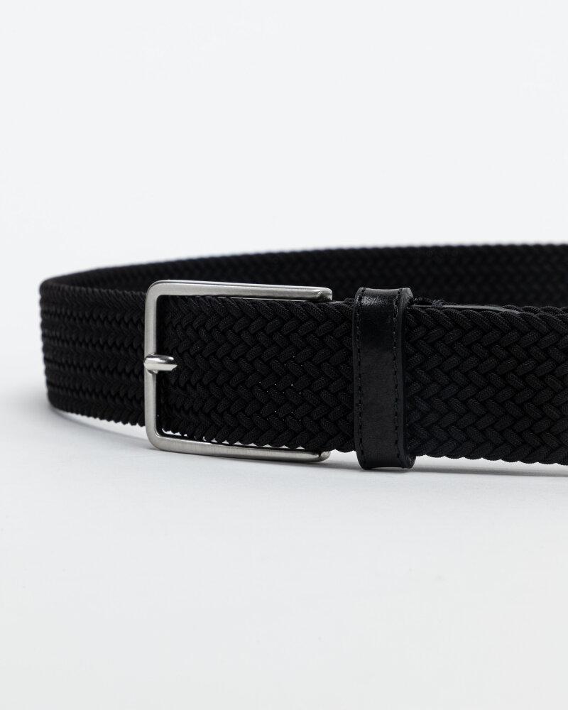 Pasek Saddler 788000001_BLACK czarny - fot:2