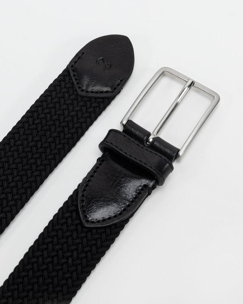 Pasek Saddler 788000001_BLACK czarny - fot:3