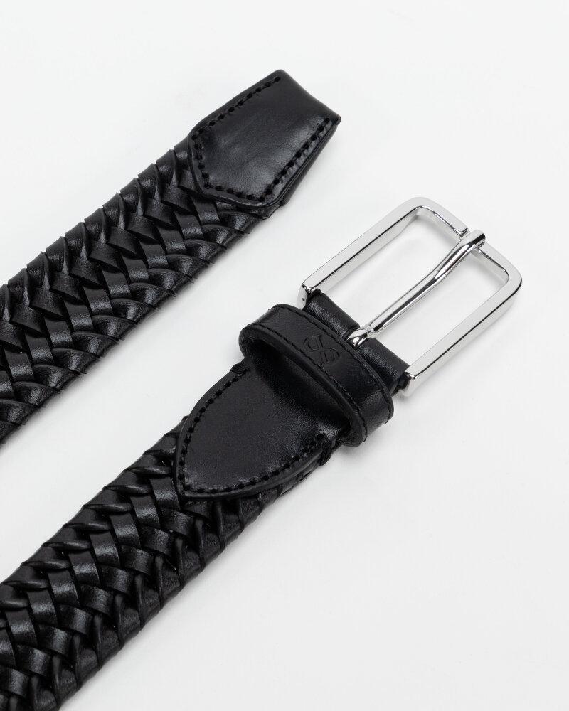 Pasek Saddler 787050001_BLACK czarny - fot:3
