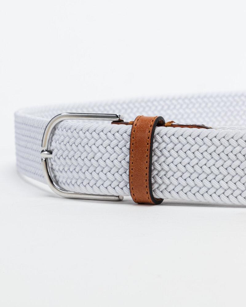 Pasek Saddler 785750013_WHITE biały - fot:2