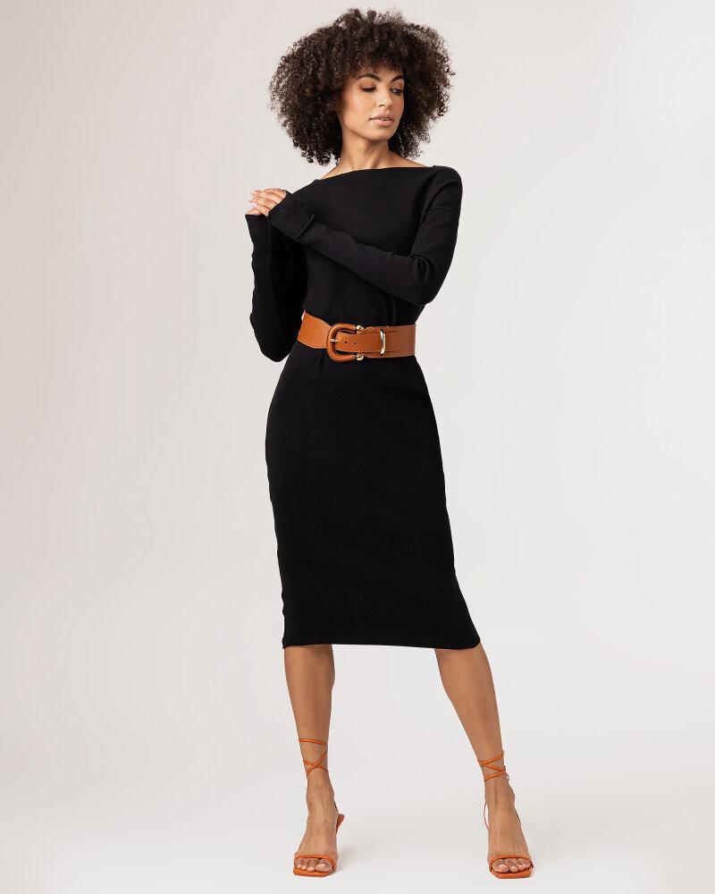 Sukienka Fraternity WL21_SUZIE _BLACK czarny - fot:2