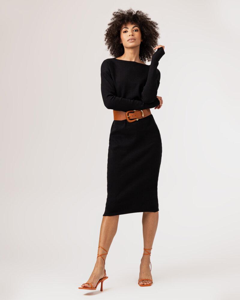 Sukienka Fraternity WL21_SUZIE _BLACK czarny - fot:7