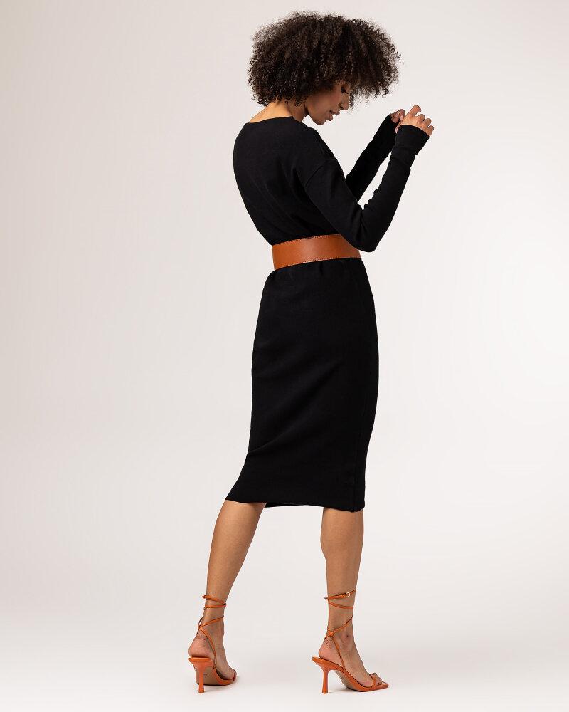 Sukienka Fraternity WL21_SUZIE _BLACK czarny - fot:4