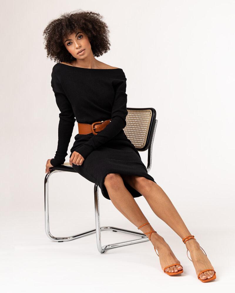 Sukienka Fraternity WL21_SUZIE _BLACK czarny - fot:5