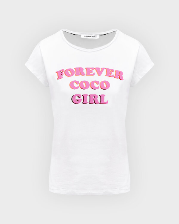 T-Shirt Co'Couture 73123_4000 biały